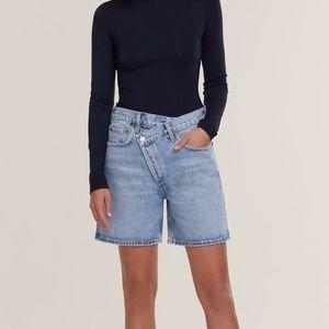 AGOLDE criss cross shorts 23 (fits big)